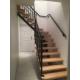 Escalier bois-métal